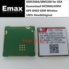 SIM5360A/SIM5360 Guaranteed 100% New Original WCDMA/HSPA GPS GNSS GSM Wireless 3G Module Distributor for USA  JINYUSHI stock
