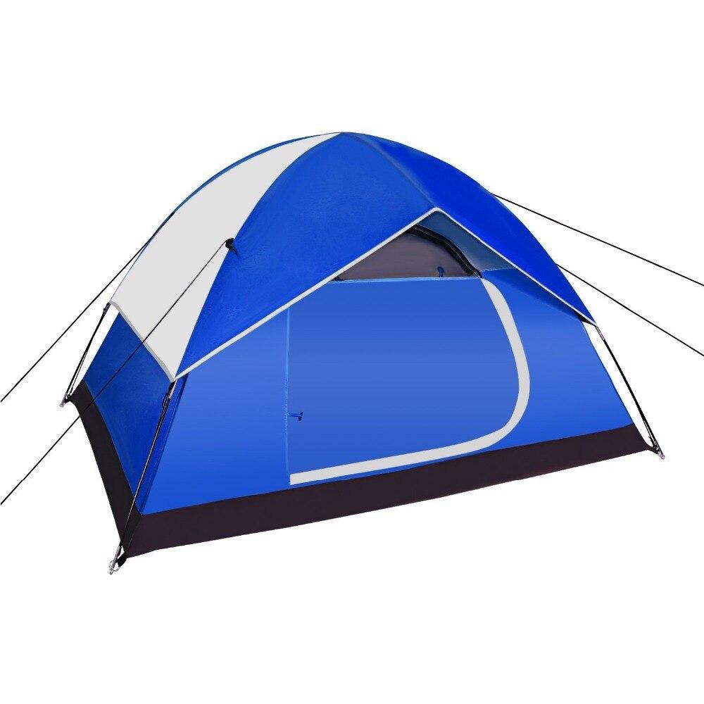 Tente de camping ultra-légère 2 à 3 personnes