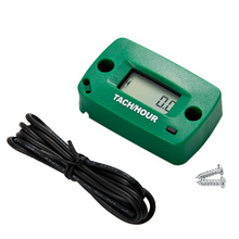 Free Shipping!Digital Motorcycle Tachometer Hour Meter 60000 RPM 2/4 Stroke(China)