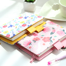 A5 A6 PU Leather Notebook Personal Organizer Diary Week Month Daily Planner Agenda Schedule Book Cute Stationery School Supply