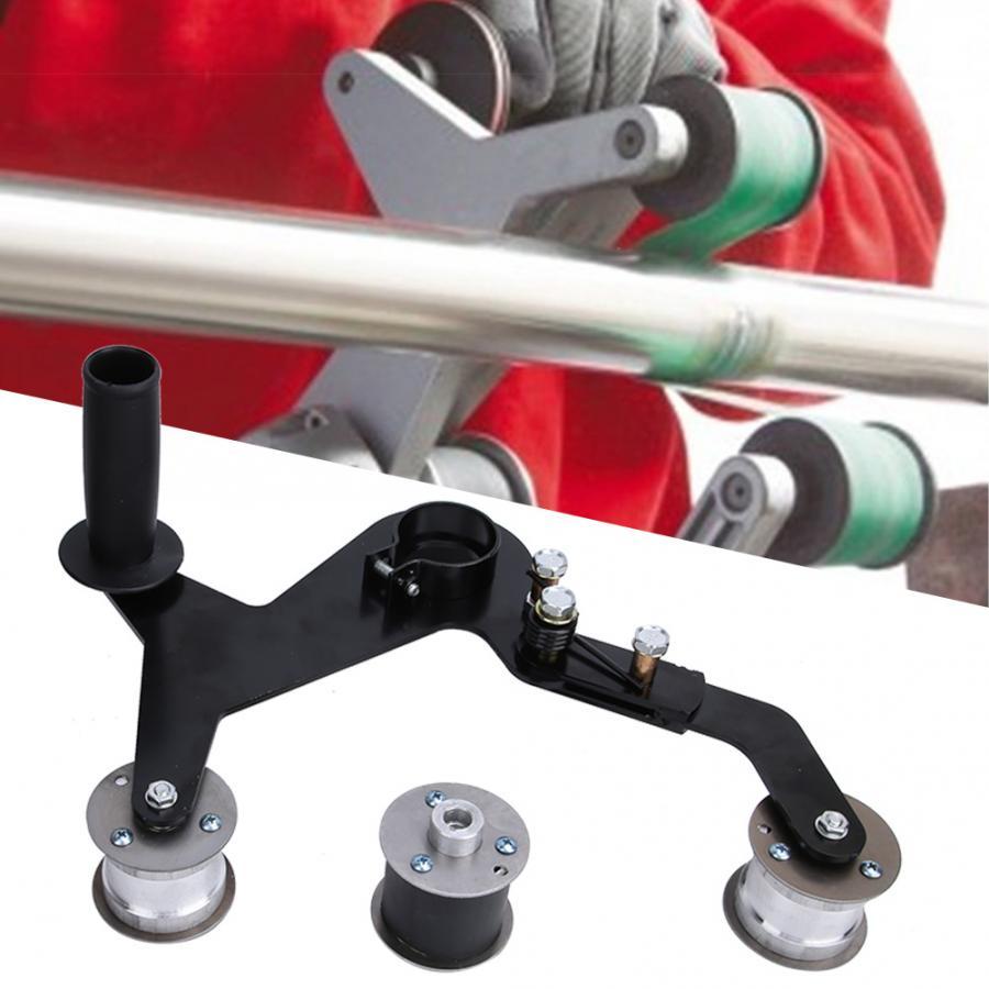 Lijadora de banda pulidora port/átil de tubo redondo Lijadoras de banda Pulidora Pulidora para lijado forjado y pulido de barandas instaladas