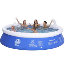 inflatable swimming pool inflatable water sports inflatable pool family round swim pool 300x76cm(China)