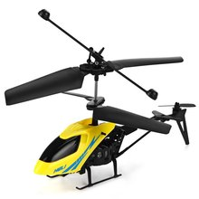 Hot Sale 901 Mini RC Helicopter Remote Control Toys Aircraft Shatter Resistant 2.5CH Flight Toy with Gyro System Kids Gifts(China)