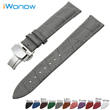 Genuine Leather Watch Band 18mm 19mm 20mm 21mm 22mm for Casio BEM 302 307 501 506 517 EF MTP Strap Wrist Belt Bracelet