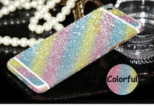 Front + Back Full Body Bling Crystal Diamond Film Sticker For J5 2015 J500 Decal Skin Cover Capa For Samsung Galaxy J7 2016 J710