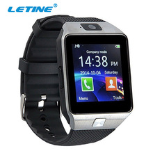 Letine Smart Watch Digital DZ09 Electronic Wrist watches Men Bluetooth SIM Card Sport Smartwatch Camera For iPhone Android Phone(China)