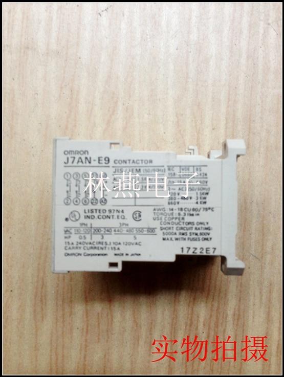 ) Contactor J7AN-E3 J7AN-E9<br>