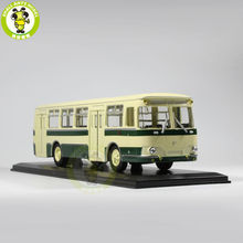 1/43 LIAZ 677 LIAZ-677 Bus Model USSR Soviet Union city bus ULTRA CLASSIC BUS MODEL Green(China)