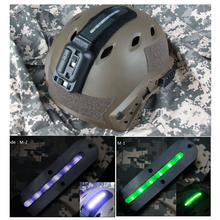 New Arrival Tactical White Green LED Weapon Light For Helmet Outdoor Hunting Paintball Accessory CL15-0063