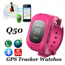 Original Quad Band Smart Baby Watch Kids GPS & GSM Tracker For Children Security With Mobile SOS Function Kids Monitor Watch