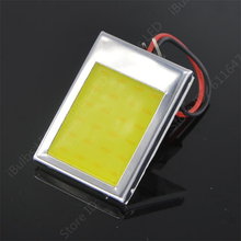 1Pcs Best Price T10 24 SMD COB LED Panel Dome Festoon  3 Adapters Car Auto Interior Reading Lamp Light Source