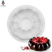 Wulekue Silicone Round Garland Champion Molds Mold Cake Decorating Tools For Pans Baking Brownie Chiffon Sponge Cakes Pan