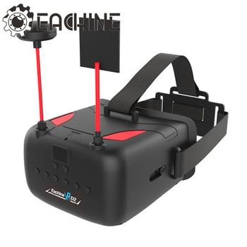 Eachine VR D2 5 Pulgadas 800*480 40CH Raceband 5.8G Diversidad FPV Con DVR de la Lente Ajustable