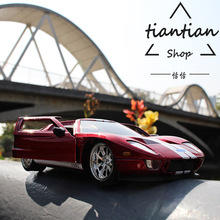 1:32 Ford GT Alloy Car Model Real Restore Favorites Decoration Children Toys Car(China)