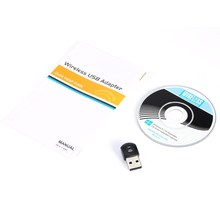2.4GHz/5GHz Mini Dual Band 433+150Mbps Wireless USB Dongle WiFi PC LAN Adapter Wireless Network Card