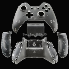 IVY QUEEN Custom Transparent Clear Crystal Front and Back Shell Cover Case For Microsoft XBox One 1 Controller Wireless