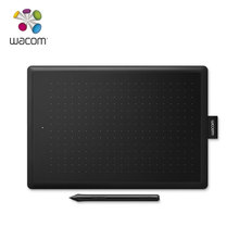 One by Wacom CTL-672 Digital Graphic Drawing Tablet 2048 Pressure Level Medium Size (black-red color)(China)