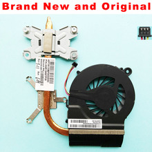 New Radiator for HP Pavilion G4-1000 G6-1000 G7-1000 G4 G6 G7 laptop CPU Heatsink cooling fan cooler 643259-001 646578-001 FAB9(China)