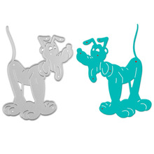 Dog Metal Cutting Dies for Scrapbooking Album Paper Card Embossing Stencils Cut Dies