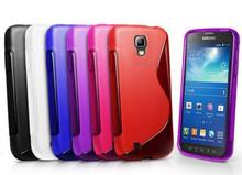 FORFor Samsung Galaxy S4 Active Case GT-i9295 E470S i537 S Line Wave Soft TPU Cover