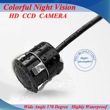 Factory Promotion CCD HD night vision 170 degree car rear view camera back  view reversing backup camera