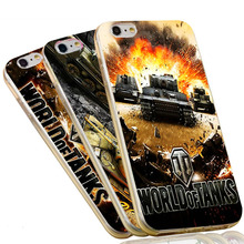 World Of Tanks Phone Case for iPhone 5S 5 SE 5C 4 4S 6 6S 7 Plus Soft TPU Slim Silicon Cover