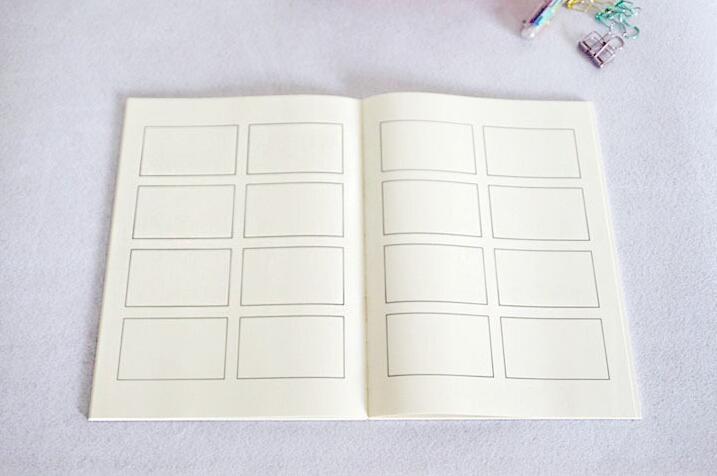 2 X A4 Tamaño Niños Actividad Libro 64 páginas libro de papel blanco