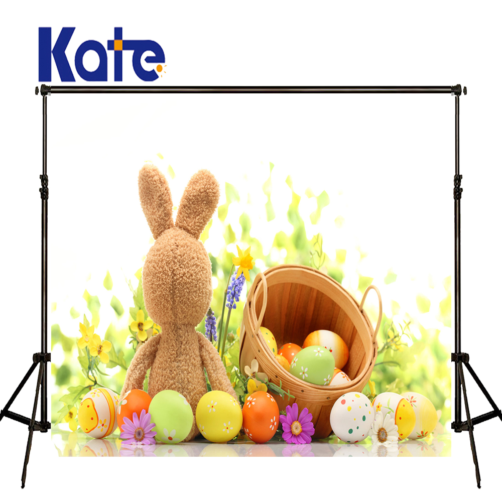 Easter Photography Backdrops Flower Egg Frames Fundo Fotografico Easter Day Zj<br>