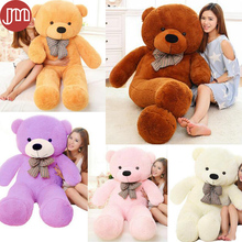 New Teddy Bear Plush Doll Soft Staff Plushie Bonecas Brinquedos Huging Pillow 80cm Baby Toy Kids Birthday Gift 5 Colors