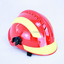 SELL AS SET(Free Goggles+Strong Light Flashlight)High Quality F2 Fire fighting rescue Helmet Fire Safety Helmet