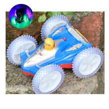 New Style Hot Wheels Trucks Car Dumpers Eectric Wireless Stunt Toy Car with Led Light Music Kids Toys Gift juguetes
