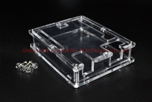 Uno R3 Case Enclosure Transparent Acrylic Box Clear Cover Compatible with Arduino UNO R3