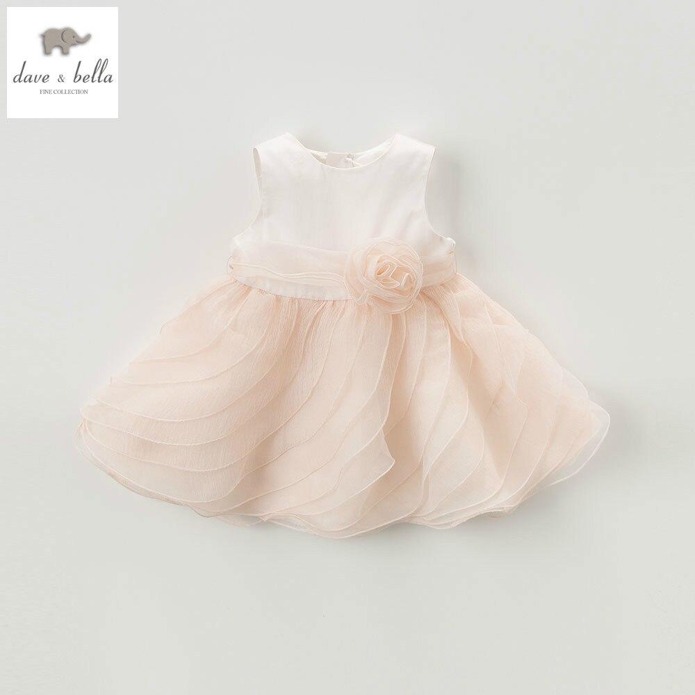 DB5658 dave bella summer baby girls princess dress childs wonderful dress kids wedding dress children dress baby lolita costumes<br>