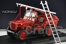1/18 Jeep WILLYS Wrecker Truck Fire Truck Diecast Truck aerial ladder Model Recovery Vehicle Gifts Christmas