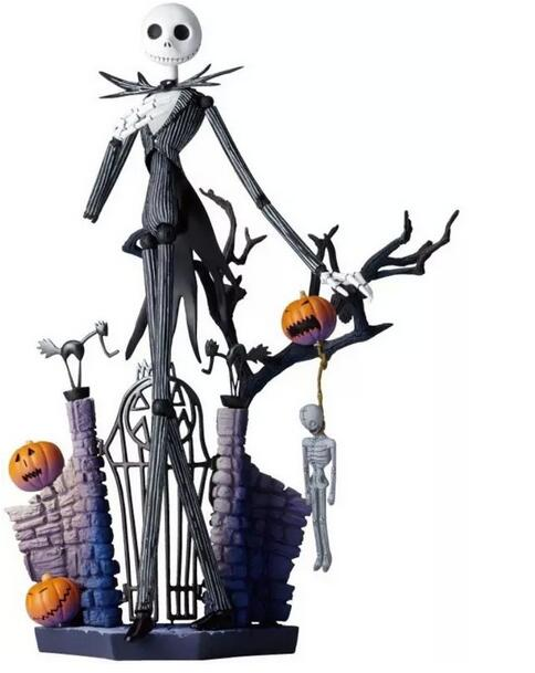 20cm Christmas Jack Action Figure Jack Skellington With Pumpkin Before Christmas Model Doll Gifts For Halloween 016<br>