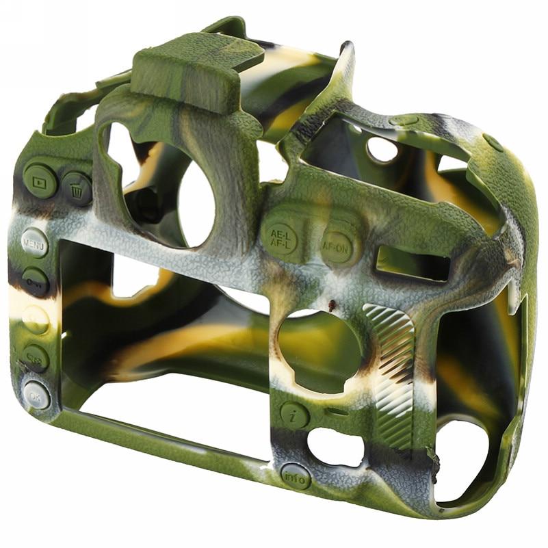 Soft Silicone Rubber Camera Bag For Nikon D810 D800 D850 Protective Body Case Skin DSLR Camera Rubber Cover Bag (8)