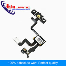 Liujiang Higi Quality Replacement Parts  Power Switch Button Flex Ribbon Cable For iPhone 4s Proximity Light Sensor On / Off