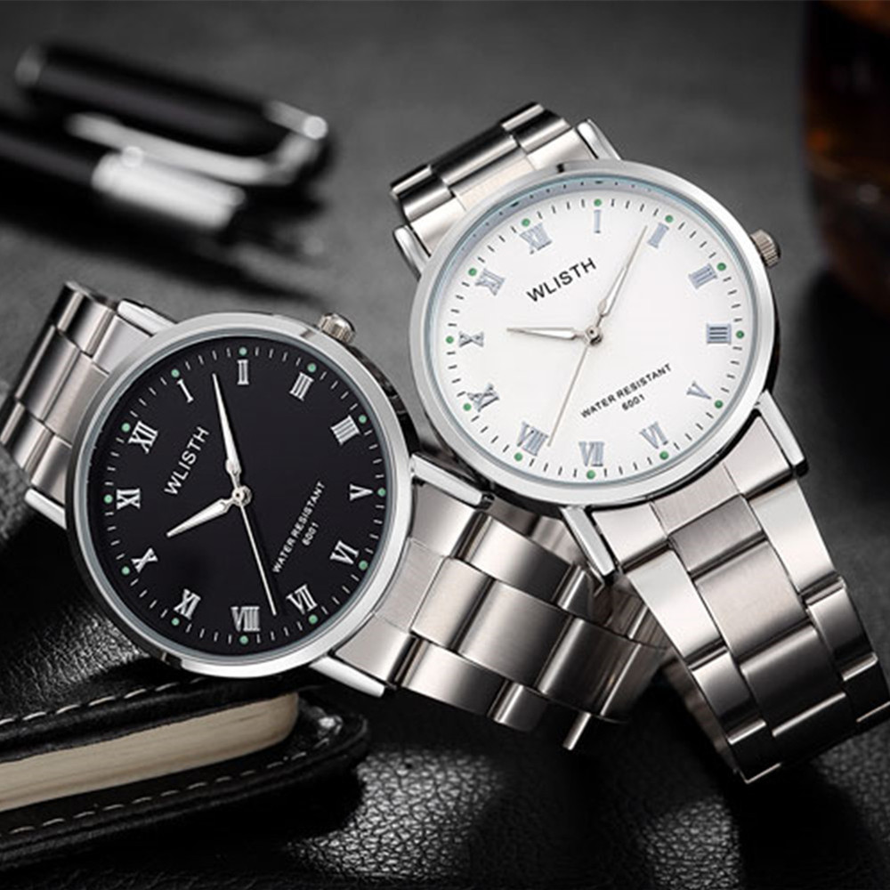 Relogio Masculino WLISTH Quartz Watch Men Brand Fashion Luxury Wrist Watches Casual Clock Metal Wristwatch Montre Homme<br><br>Aliexpress