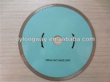 180x7x22.23-15.88mm cold press continuous rim diamond saw blade for tiles,ceramic,and marble(China)