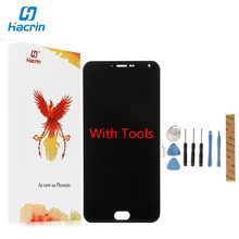 Hacrin For Meizu M2 Note LCD Display+Touch Screen Digitizer Glass Panel For Meizu M2 Note 1920x1080 FHD 5.5'' Cell Phone(China)