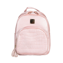 Women Backpack Fashion Girls PU Leather Travel Shoulder School Simple Rucksack Bags