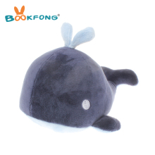 BOOKFONG 20CM Cute Mini Blue Whale Bamboo Charcoal Plush Doll Toy Stuffed Sea Animal Clean Air Toy Car Home Decor