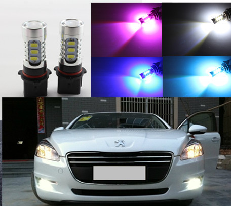 for Peugeot 508 accessories White High Power P13W SH23W LED DRL Daytime running light fit 2011-2015<br><br>Aliexpress