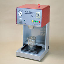 Variable Speed Dental Lab Equipment AX-2000B Vacuum Mixer with Built-in Vacuum Pump with CE Certificate(China)