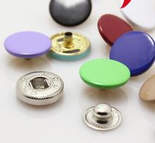 15mm 20mm Copper color snap button down jacket clasp buckle buttons 100 pcs/lot free shipping