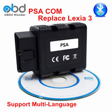 Hot Sale PSACOM PSA-COM Bluetooth Diagnostic Programmer Tool PAS COM For Peugeot/Citroen Vehicles Replacement Of Lexia 3 PP2000