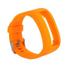 Replacement Silicone Band Strap Bracelet Garmin Vivosmart HR, One (No Tracker, Bands Only) (Orange) - Professionals Watch Store store