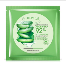 5pcs BIOAQUA Aloe Vera Collagen Mask,Anti-aging,Moisturizing Whitening Facial Mask beauty Face Care Product Aloe face mask makeu