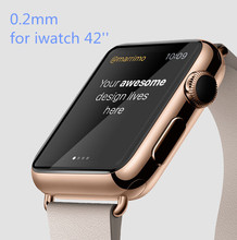 0.2mm Premium Explosion Proof Real Tempered Glass Protective Film Screen Protector for 42mm 38mm Apple Watch Iwatch