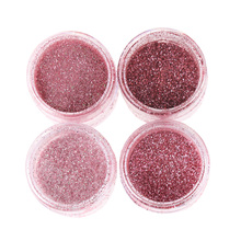 1 Box Shinny Nail Glitter Rose Gold Nails Art Powder Dust Sequins Effect Manicure DIY Decoration nail art Glitter Powder(China)